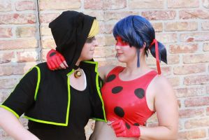 Ladybug Cat Noir Miraculous Cosplay Breakdance by Lucy-chan90