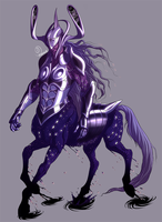 Cosmic Centaur Commission by Harseik
