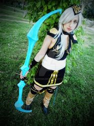 Ashe- League of legends by GeoKuromi