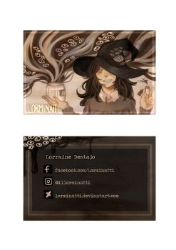 Business card concept by Lorminatti