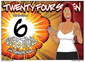 6 Questions with Katherine Ramos by TheD-Wrek