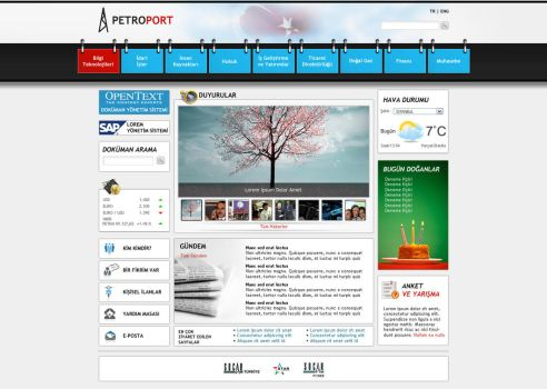 SharePoint Intranet Portal by blackiron