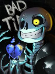 Sans showing us some bad time by Don-ko