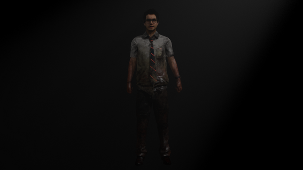 Dead By Daylight Dwight for XPS by SaltPowered