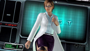 DOA5 Lisa Hamilton Lab Coat by darkblueking