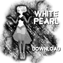 MMD DL : White Pearl download by HoshichoM