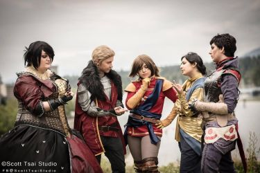 Dragon Age- War Council by twinfools