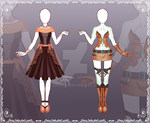 [Close] Adoptable Outfit Auction 51-52 by Kolmoys