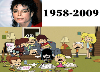 The Loud House Crying At Michael's Death by TheLoudHouse1998