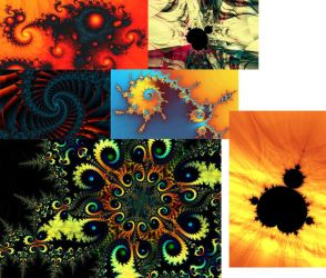 My Latest Fractals by glassocean