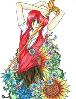 Chise, flowers of future by Sekaike