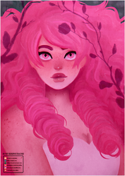 Steven Universe | Rose Quartz [Speedpaint] by H0nk-png