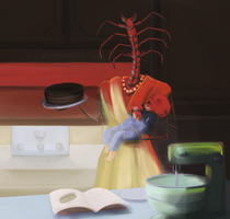 Late Night Baking by InvalidQuestion
