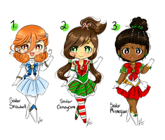 Christmas Sailor Adoptables [CLOSED] by SRealms