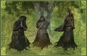 The Norns by MADmoiselleMeli
