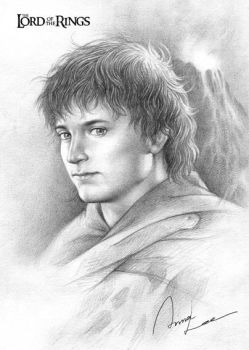 Frodo by ilxwing