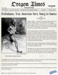 Prefontaine News Article by PCHILL