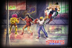 Streets of Rage HD by modusprodukt