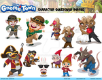Disney's Gnometown Character Sheet 2 by RehanaKn