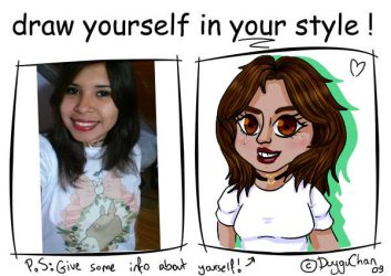 Draw Urself In Ur Style Meme by cami-green