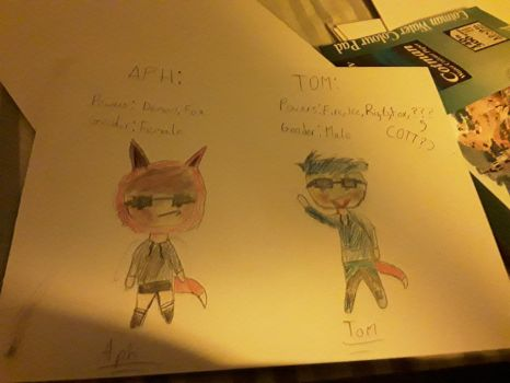 Meet Aph and Tom by TheGaintPencil