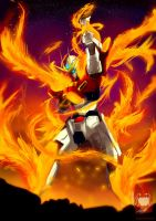 Try Burning Gundam by ibrahammoizoos