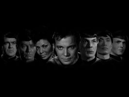 Star Trek TOS Mock Wallpaper by Silvre