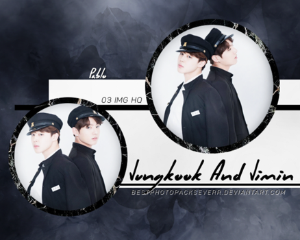 Photopack 16607 - Jungkook And Jimin (BTS). by xbestphotopackseverr