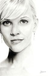 Reese Witherspoon by Jeanne-Lui