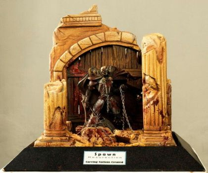 Diorama SPAWN by carvingnations