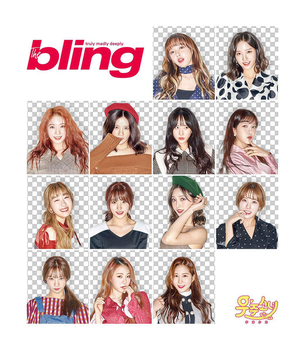 png pack: WJSN for 'The Bling Magazine' by parxsite