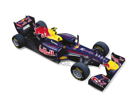 Mark Webbers Red Bull RB7 by AussieBattla