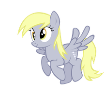 Flying Derpy by Tardifice