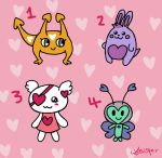 [CLOSED] Free Valentine's day adoptables by WhispersGhost