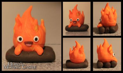 Calcifer - Howl's Moving Castle by HappyMach