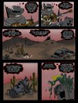 Rot Town Comics, Wastland Cowboy#2 by 1sinmuse