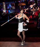French Maid Nidalee Cosplay by Nyandalee