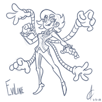 COMM - Eviline by Atrox-C