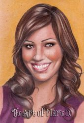 Michaela Conlin Portrait by xMarieDx