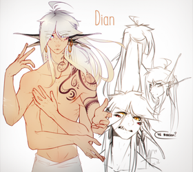 Dian by Little-Winged-One