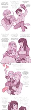 Little Tiger and Fairy Princess by piku-chan