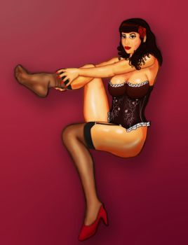 Pin Up by Grindolf
