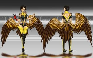 Lammergeier Female Harpy Adopt [OPEN] NEW PRICE by hollowheartlessIzsak