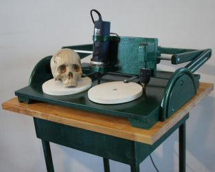 Copy carver with skull by def-j