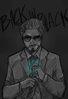 b a c k in b l a c k by thenizu