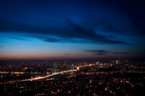 Istanbul of the lights by DevUmt