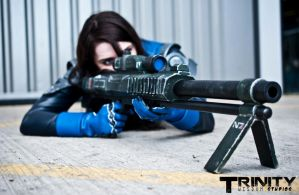 Ashley Williams - Taking Aim by Athora-x