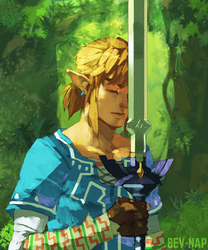 Master Sword (High Res Available) by Bev-Nap