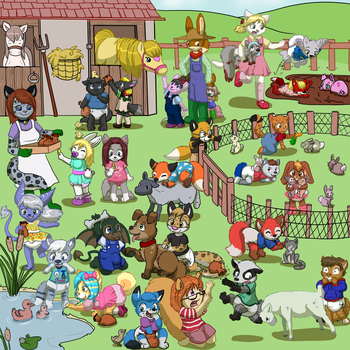 Pettingzoo by ToddlerGirl by OdaWolf