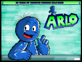 The Puppet that's here for Gaming! Arlo Here! by FaisalAden